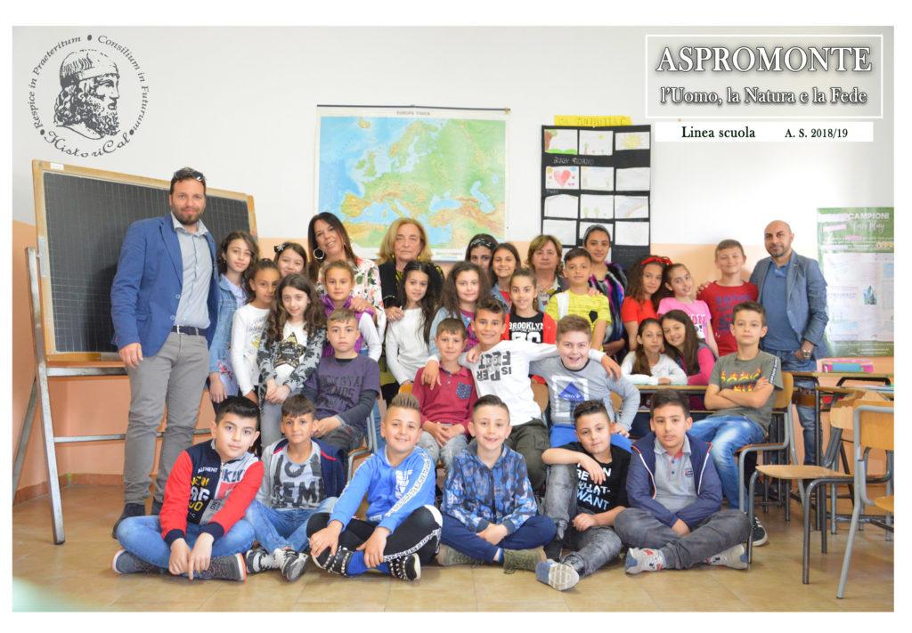Historical con Scuola elementare Natile Progetto Aspromonte 2019